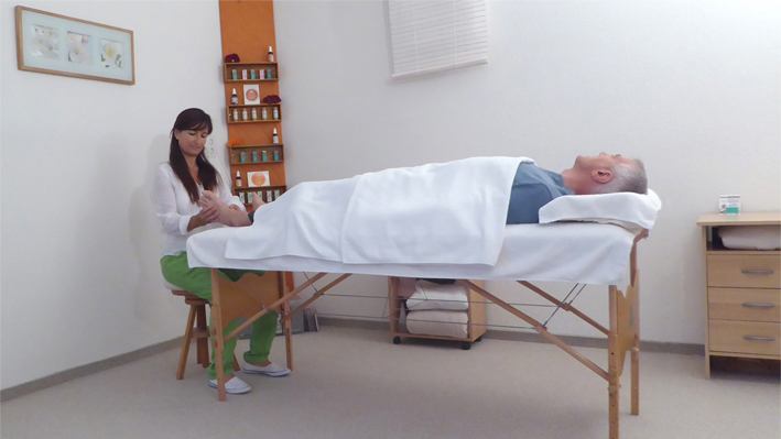 Fussreflexzonenmassage Zürich Behandlung